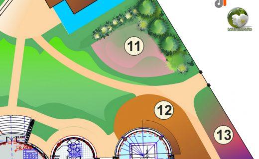 Ландшафтный дизайн - как измерить площадь и периметр участка в Корел Дро | Corel Draw